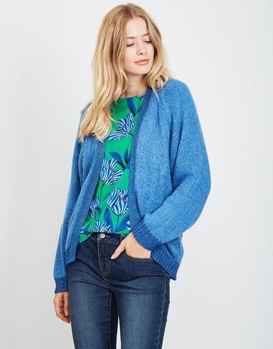 Veste en magnifique laine mélangée
